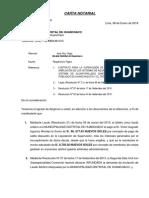Carta Huanchaco