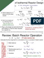 Pressure Drop in Reactors