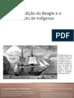 A expedição do Beagle e o rapto de indígenas