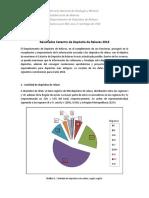 Analisis Catastro Depositos de Relaves en Chile2016
