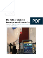 EtCO2 in Termination of CPR