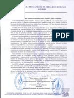 Pronunciamiento Dr. Jhiery Fernández