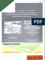 Estudio Definitivo de Los Puentes Palca y Santa Rosa y Accesos Vol II 2013 Ec2[1]