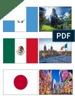 Banderas y Lugares de Cada Pais Grande