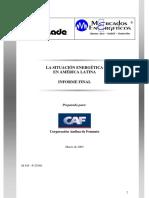 End La Situacion Energetica en America Latina