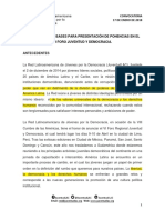 Convocatoria y Bases Para Presentación de Ponencias