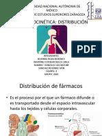 Distribución.-Farmacocinética.