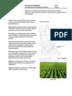 modeling minnesota agriculture