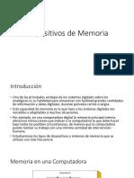 Dispositivos de Memoria v2017