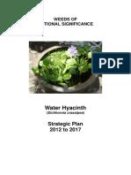 National Water Hyacinth Strategic Plan (Final-June 2013)