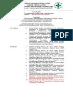 008 Sk Pemberian Informasi Kepada Masyarakat Tentang Tujuan, Tugas Pokok, Fungsi Dan Kegiatan Puskesmas Puskesmas Cigemblong