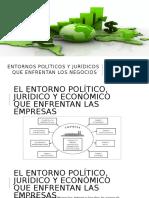Entornos Políticos y Jurídicos