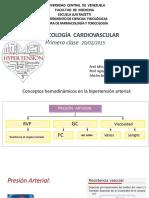 27.- Cardiovascular I - HTA I (Presentacion)