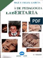 Diaz y Garcia-Ensayos de Pedagogia Libertaria
