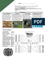 DB 2018 March Mammal Madness