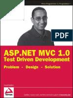 ASP.net MVC 1.0 Test Driven Development Problem - Design - Solution