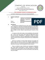 Waste Management Proposal