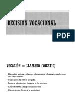 Unión Decision Vocacional e Inserción a La Vida Laboral(1)