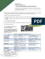 7º Coordinación - la oración simple y funciones del lenguaje..doc