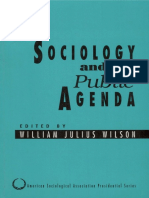 (American Sociological Association Presidential Series) William Julius Wilson-Sociology and the Public Agenda-SAGE Publications, Inc (1993)