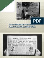 Contexto y Novela de Posguerra