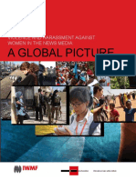 'Violence and Harassment Against Women in the News Media... a Global Picture', A 40-Page Report Looking at the Dangers Faced by Women Working in News Media Around the World.