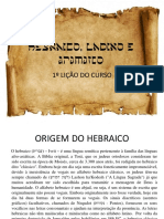 Apostila 01 - Hebraico Ladino Aramaico