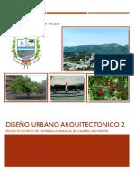 DISEÑO URBANO AQUITECTONICO