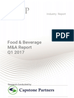 Food and Beverage Report Q1 2017