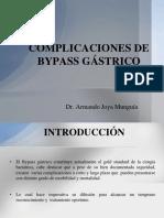 Complicaciones de Bypass Gástrico