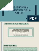 Prevención y Promoción de La Salud