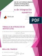 Métodos de Integración Numérica