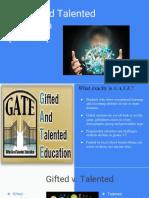 gate presentation