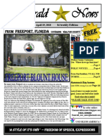 The Emerald Star News - April 19,2018 Edition