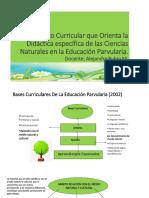 Marco Curricular 2002 y 2018 CIENCIAS
