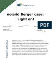 Case - Roland Berger Case- Light on!