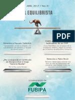 Fubipa Revista_41 El Equilibrista