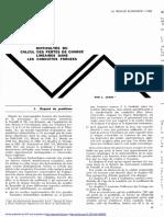 Difficultes Du Calcul Des Pertes de Charge Lineaire Dans Les Conduites Forcees L. Levin
