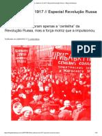 As Mulheres de 1917 __ Especial Revolução Russa – Blog Da Boitempo