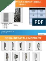 Nokia Intratalk 1800Mhz Cabinet