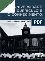 A Universidade o Curriculo e o Conhecimento Blv