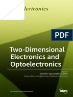 TwoDimensional Electronics and Optoelectronics