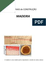 Materiais de Construção Madeira
