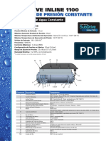 Sistema de Presion Constante M2181sp Inline 1100 Technical Flyer 02-10 PRESS