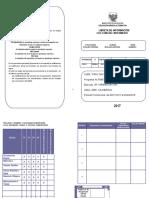 Libreta de Información Inicial Intermedio