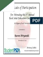 raven hrtyanski certificate