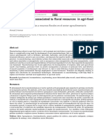Nanotecnologías Asociadas a Recursos Florales en El Sector Agroalimentario