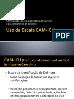 Uso Da Escala CAM-ICU