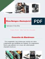 Oficina Montagem e Manutenção de Computadores