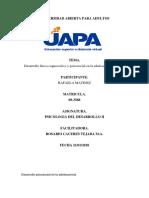 PSICOLOGIA DELdesarrollo11  TAREA 2Y3.docx